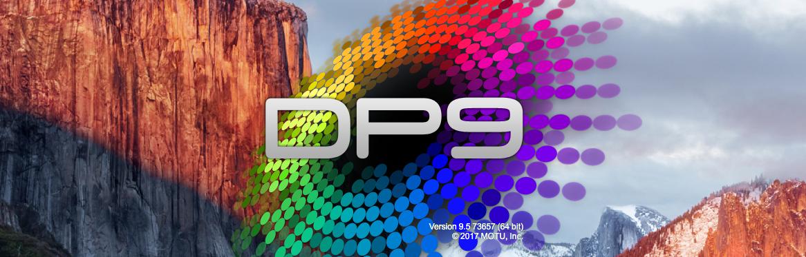 Digital Performer 9.5 アップデートの新機能