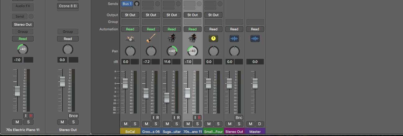 【Logic Pro X 】バウンスして2MIXで書き出す方法