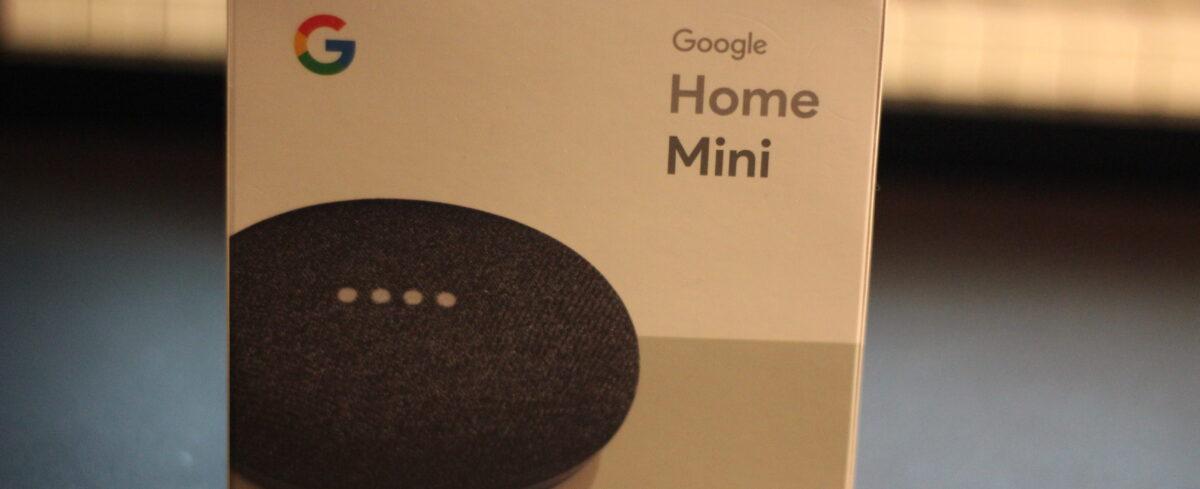 Google Home Mini レビュー